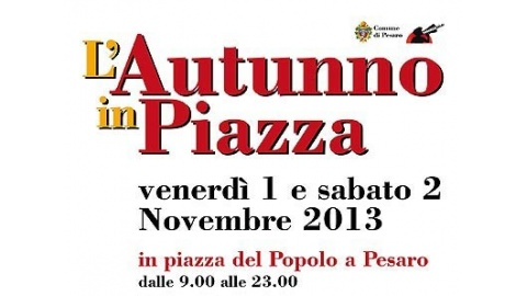 L'Autunno in Piazza