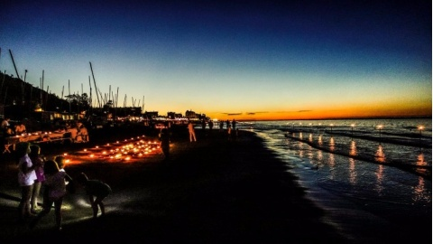 Candele sotto le stelle Pesaro