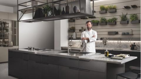 Scavolini presenta la nuova cucina Mia by Carlo Cracco