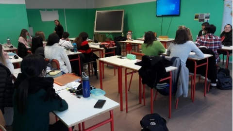Donaction al Liceo Linguistico Mamiani